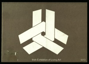 Cover of the Irish Exhibition of Living Art (IELA) catalogue.