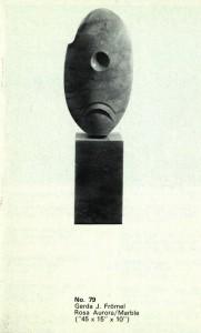 Frömel's 'Rosa Aurora' in the 1970 IELA catalogue.