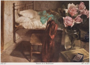 Roses in a Bedroom, 1947 private collection