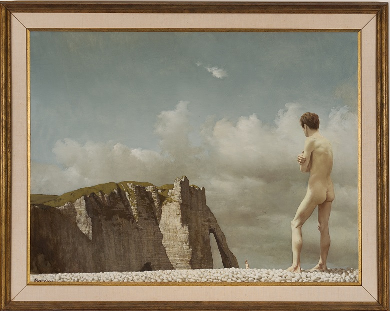 Men bathing, Etretat, c. 1954 private collection