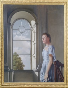 Portrait of Elizabeth Bowen at Bowenscourt, 1957 Crawford Art Gallery, Cork