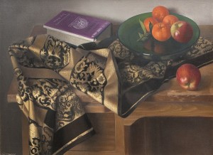 Purple and Gold Still Life, c. 1970 private collection