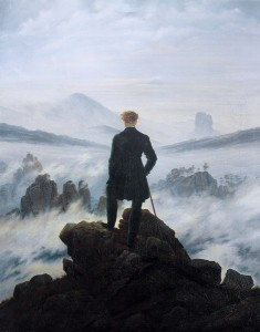 Caspar David Friedrich Wanderer above the Sea of Fog, 1818 Kunsthalle Hamburg