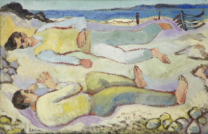 Gerard Dillon On the Beach, c. 1950 private collection