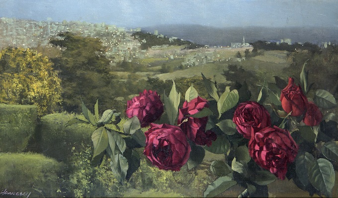 Twilight Roses Tangiers, c. 1974 private collection