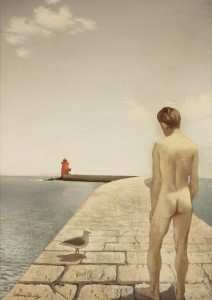 Boy and Seagull, 1954 IMMA