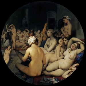 Jean-Auguste-Dominique Ingres The Turkish Bath, 1862 Musee du Louvre