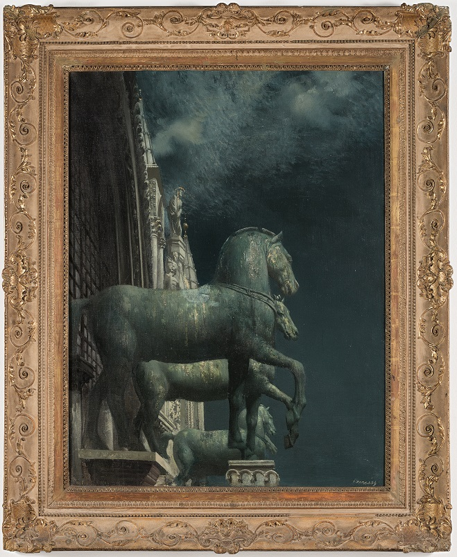 The Bronze Horses of Saint Mark's, 1953 private collection